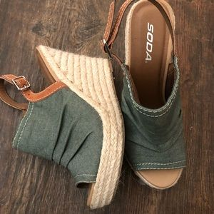 Wedges •worn once